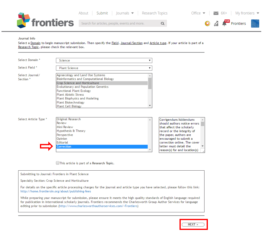 How can I add/submit a Corrigendum? – Frontiers Help Center